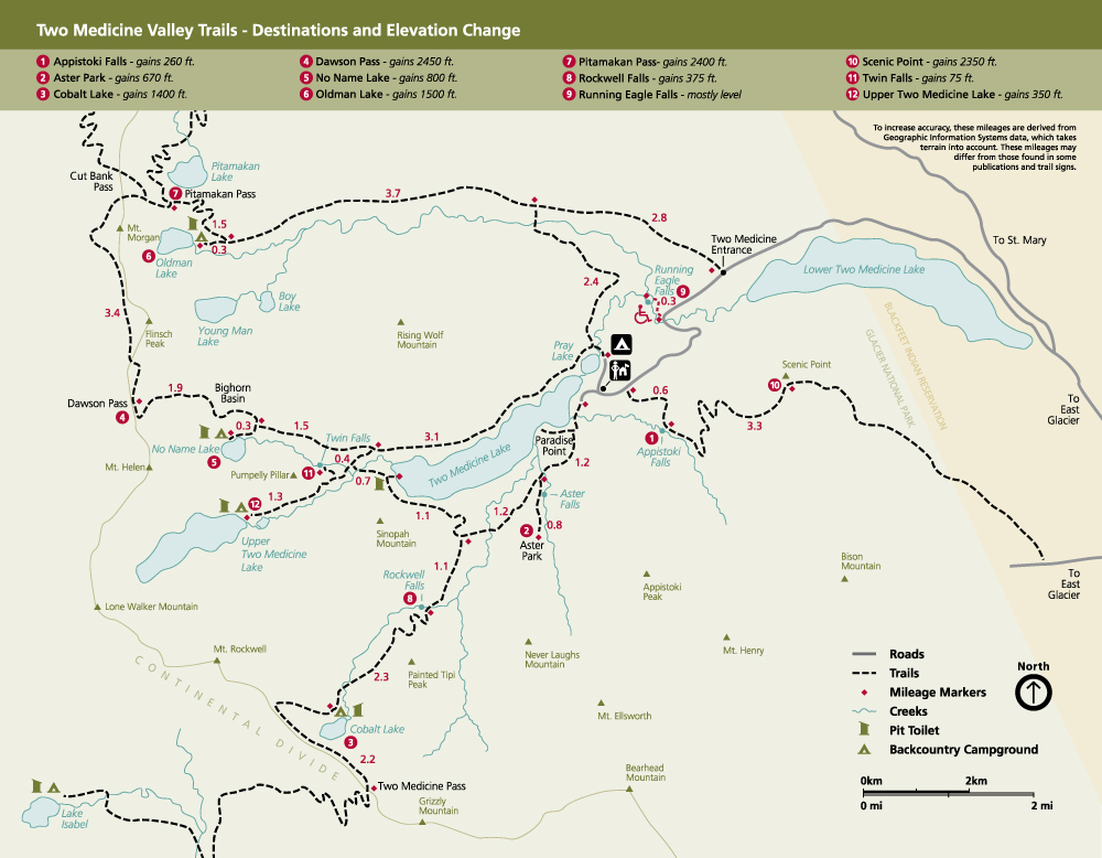graphic regarding Printable Map of Glacier National Park titled Climbing 2 Drugs - Glacier Nationwide Park (U.S. Nationwide